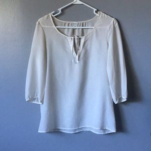 Off white old navy blouse size small